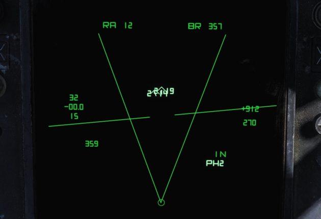 Les deux bandits sont à 20.000 ft d'altitude. Deux de nos quatre AIM-54 sont en vol. L'un frappera sa cible dans 14 secondes, l'autre dans 19 secondes.