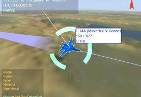 Tacview : Carte VFR du NTTR (Nevada)