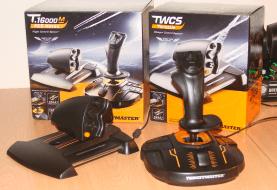 Thrustmaster TWCS throttle