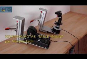 """Test du """"JOYSTICK/HOTAS Table Mount"""" de Monstertech.de"""