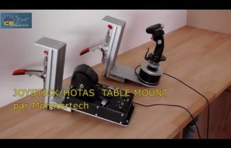 "Test du ""JOYSTICK/HOTAS Table Mount"" de Monstertech.de"