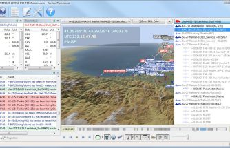 Teaser analyse de vol temps-réel de Tacview