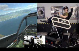 Oculus +vérins = immersion