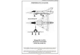 Documentation des performances: F-5E, MiG-21, Mirage III et F-4