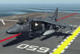 DCS World Harrier AV-8B : Opérations sur le Tarawa