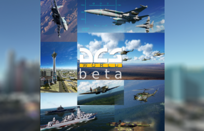 DCS world update open beta 24 Avril 2019