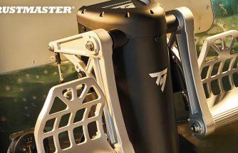 Un palonnier Haut de gamme chez Thrustmaster : Le TPR