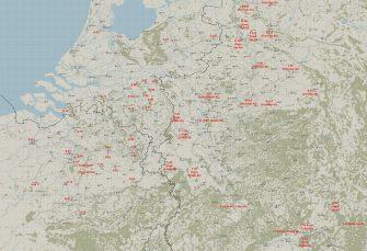 Il-2 Great Battle: Carte Bodenplatte